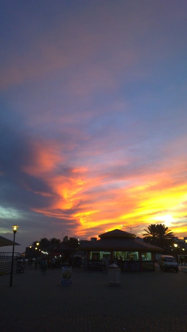 Phoenix in the sky.
