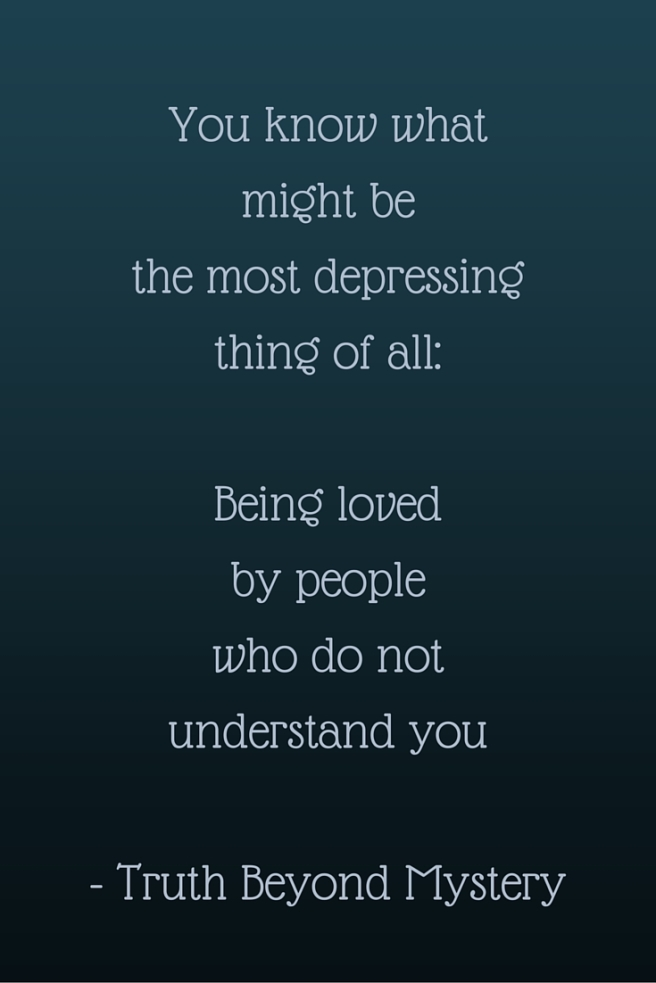 Depressing.