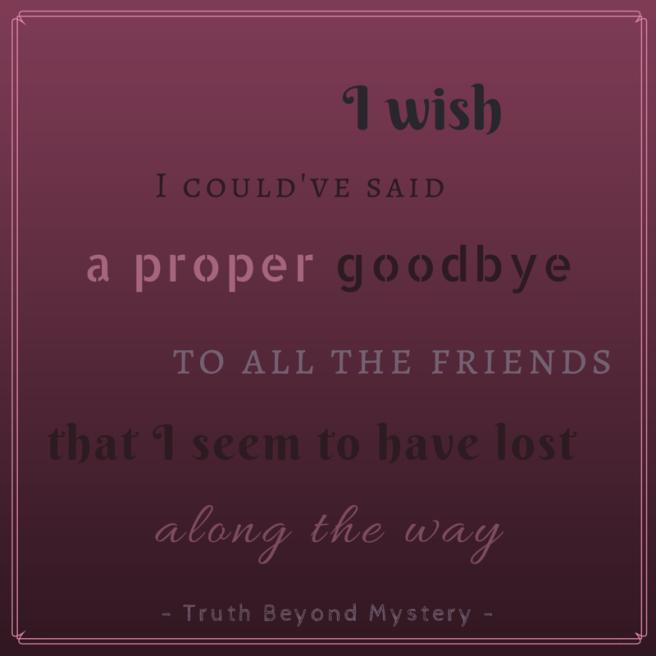 I wish - TBM